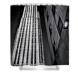 New York City Sights - Skyscraper Shower Curtain