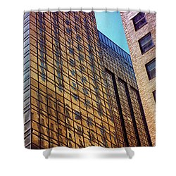 New York City Skyscraper Art 3 Shower Curtain