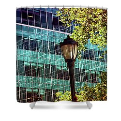 New York City Skyscraper Art 6 Shower Curtain