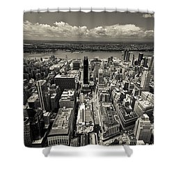 New York Husdon Shower Curtain