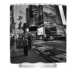 New York, New York 1 Shower Curtain