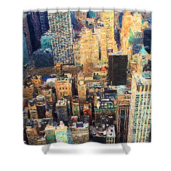 New York, New York Shower Curtain