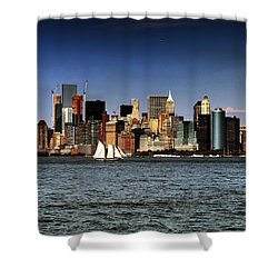 New York New York Shower Curtain by Tom Prendergast