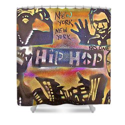 New York New York Shower Curtain by Tony B Conscious