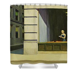 New York Office 1962 Painting By Edward Hopper