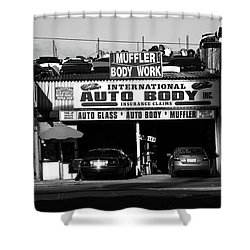 Shower Curtain featuring the photograph New York Street Photography 69 by Frank Romeo