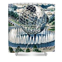 New York World's Fair Shower Curtain