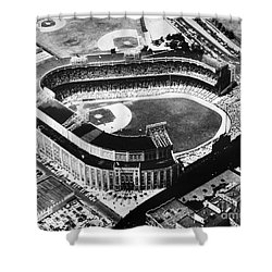 New York: Yankee Stadium Shower Curtain by Granger