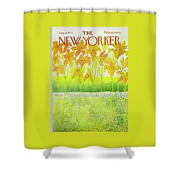 New Yorker Cover August 26 1972  Shower Curtain