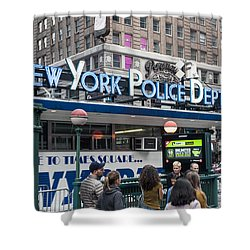New York's Finest Shower Curtain