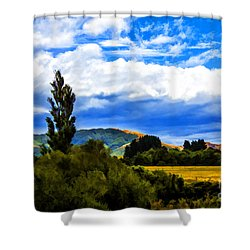 New Zealand Legacy Shower Curtain