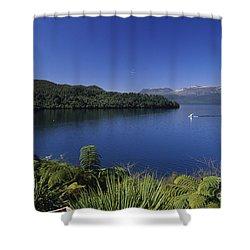 New Zealand, Rotorua Shower Curtain by Greg Vaughn - Printscapes