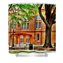 Shower Curtain featuring the photograph Newberry Opera House Newberry Sc by Lisa Wooten