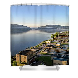 Newburgh And The Hudson Highlands Shower Curtain