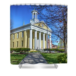 Newburgh Courthouse On Grand Street 1 Shower Curtain