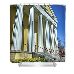 Newburgh Courthouse On Grand Street 2 Shower Curtain