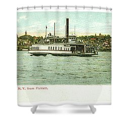 Newburgh Steamers Ferrys And River - 24 Shower Curtain
