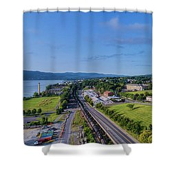 Newburgh Waterfront Looking South 4 Shower Curtain