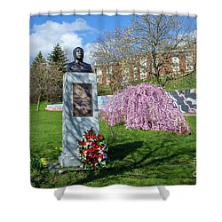 Newburgh's Dr. Martin Luther King Memorial Shower Curtain