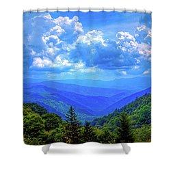 newfound gap shower curtain by dale r carlson