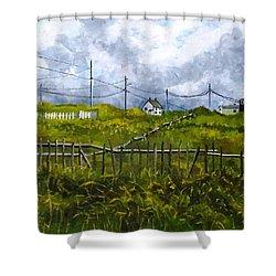 Newfoundland Jig Shower Curtain