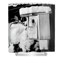 Newly Fallen Snow Shower Curtain