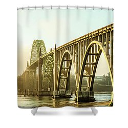 Newport Bridge Shower Curtain