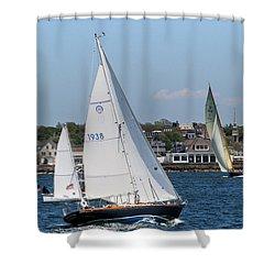 Newport Rhode Island Shower Curtain