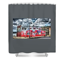 Newport Tradewinds And Mo's Shower Curtain by Thom Zehrfeld