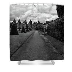 Newstead Abbey Country Garden Gravel Path Shower Curtain