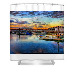 Coastal Colors Shower Curtain