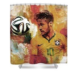 Neymar 05d Shower Curtain