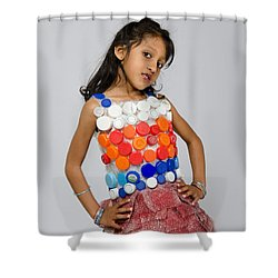 Neytra In Little Chic Shower Curtain