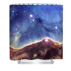 Ngc 3324  Carina Nebula Shower Curtain