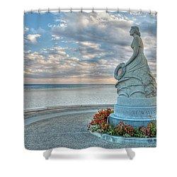 New Hampshire Marine Memorial Shower Curtain