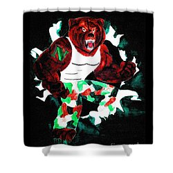 Nhs Bears In Color  Shower Curtain