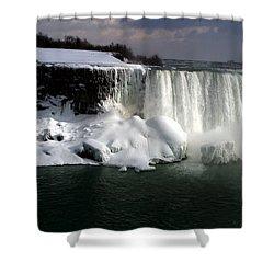 Niagara Falls 6 Shower Curtain by Anthony Jones