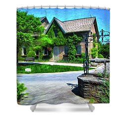 Niagara Falls Botanical Garden Y1 Shower Curtain