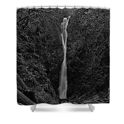 Shower Curtain featuring the photograph Niagara Falls, British Columbia by Cendrine Marrouat