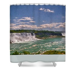 Fall In Niagara Falls Shower Curtain