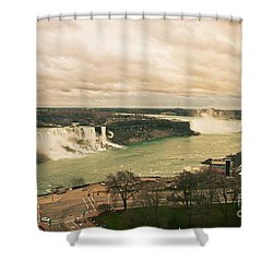 Shower Curtain featuring the photograph Niagara Falls by Mary Machare