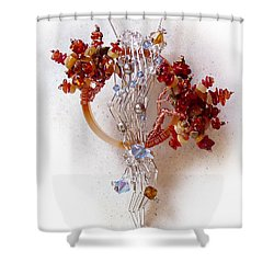 Niagra Fall Shower Curtain by Rhonda Chase