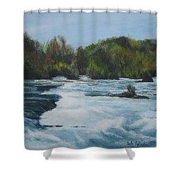 Niagra Rapids Shower Curtain