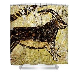 Niaux Goat Shower Curtain