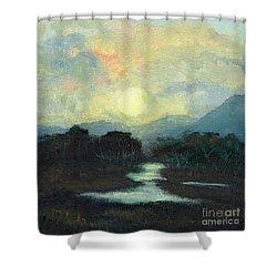 Nicaragua Jungle Moon Shower Curtain