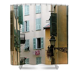 Shower Curtain featuring the photograph Nice Pastel by Rasma Bertz