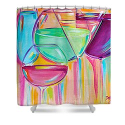Nice Stems Shower Curtain