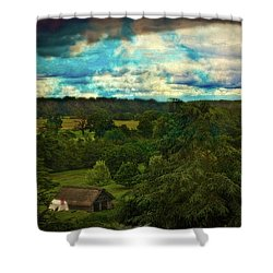 Nice Weather For Trolls In The Shire Today Shower Curtain