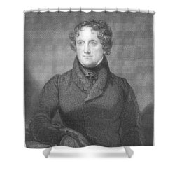 Nicholas Biddle (1786-1844) Shower Curtain by Granger