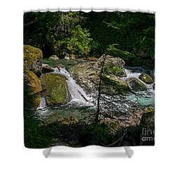 Nickel Creek 0715 Shower Curtain